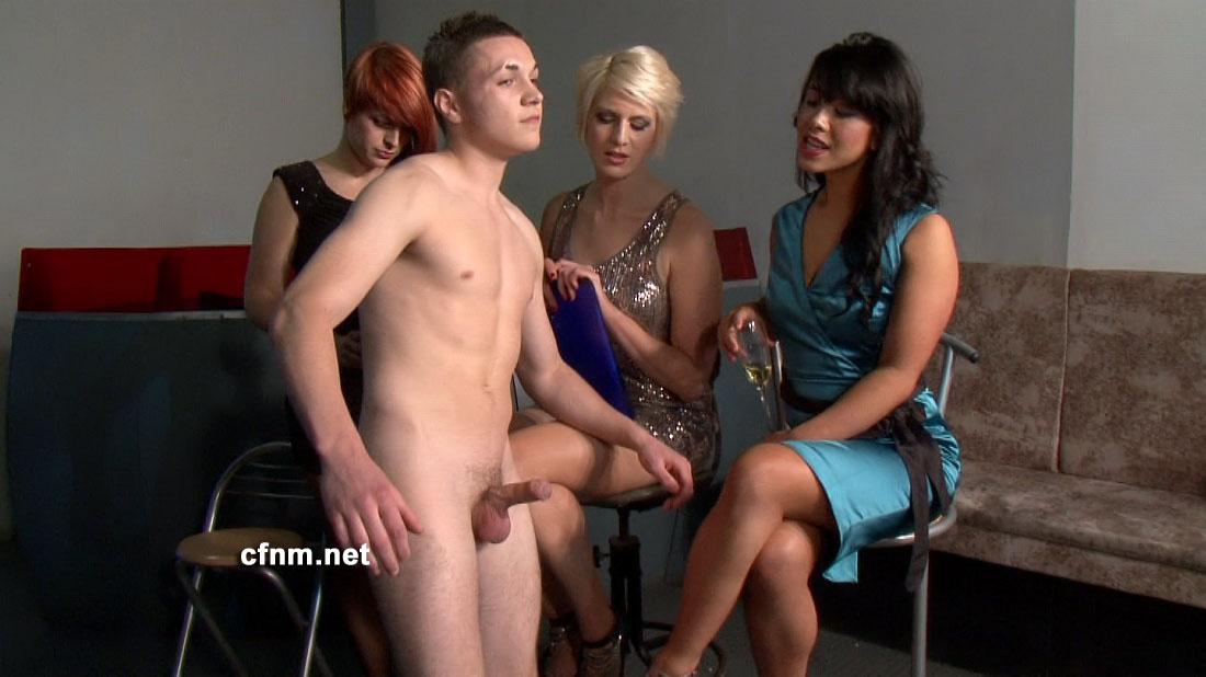 New guy cbt initiation by hired dom